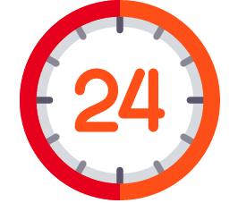 24 Hour Turnaround